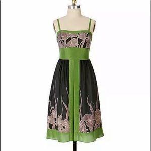 Anthropologie Hype Fundamentals Silk Dress Size 6